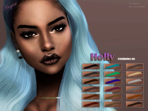 EYEBROWS 08 Holly by ANGISSI at TSR image 932 Sims 4 Updates
