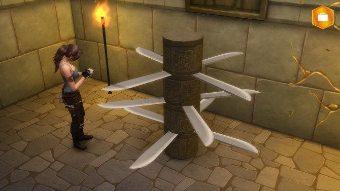 Rotary Totem Sword Trap by Sri at Mod The Sims image 94 670x377 Sims 4 Updates