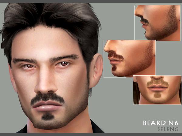 Sims 4 Beard N6 by Seleng at TSR