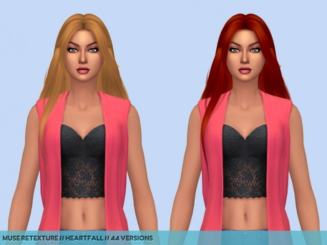 Dump hair retextures at Heartfall image 957 670x503 Sims 4 Updates