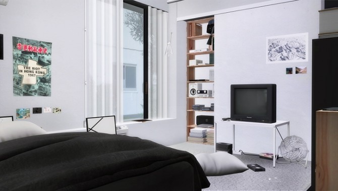 Sinda bedroom at Slox image 961 670x379 Sims 4 Updates