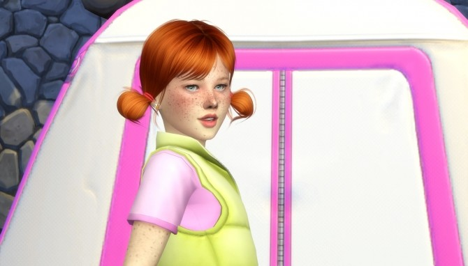 Sims 4 S CLUB LOLLIPOP HAIR KIDS AND TODDLER VERSION at REDHEADSIMS