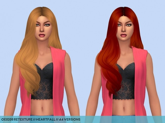 Dump hair retextures at Heartfall image 968 670x503 Sims 4 Updates