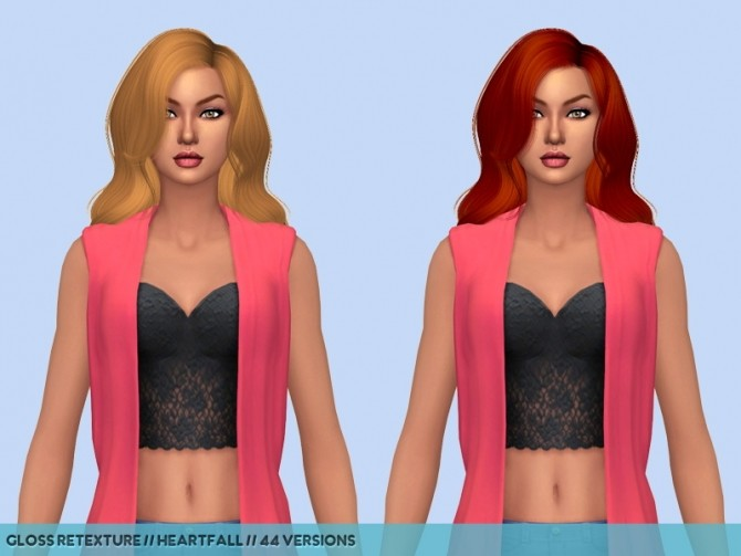 Dump hair retextures at Heartfall image 978 670x503 Sims 4 Updates