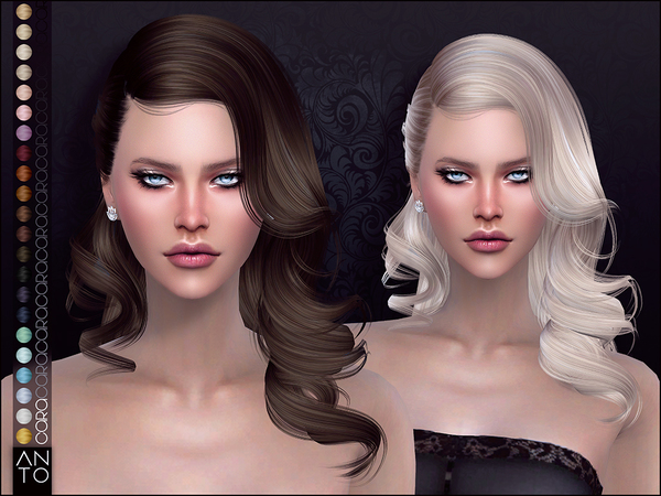 Cara Hair by Anto at TSR image 984 Sims 4 Updates