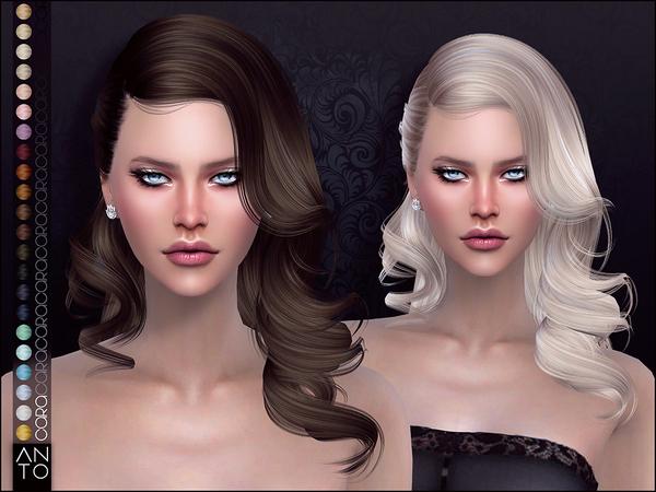 Sims 4 Cara Hair by Anto at TSR