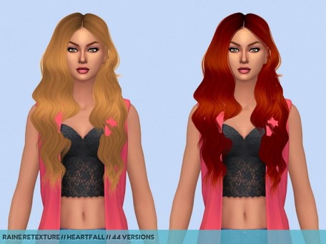 Sims 4 Dump hair retextures at Heartfall