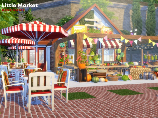 Little Market by Pralinesims at TSR image 1010 Sims 4 Updates