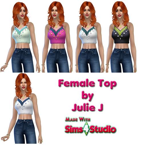 GetToWork dress to top at Julietoon – Julie J image 10212 Sims 4 Updates