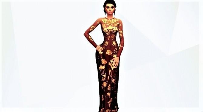 Sims 4 3 glam sim girls at Agathea k