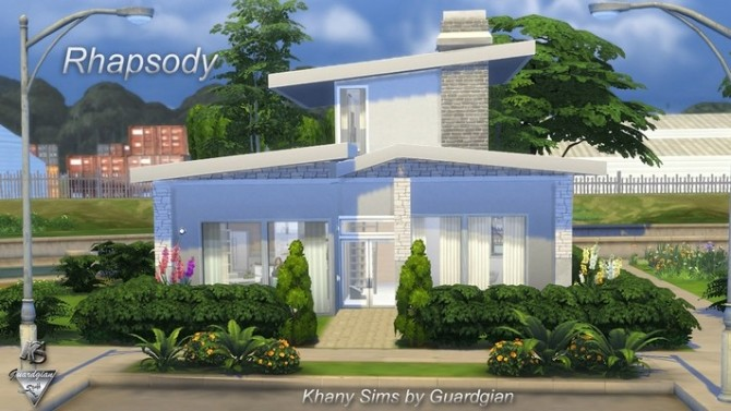 Rhapsody house by Guardgian at Khany Sims image 10415 670x377 Sims 4 Updates