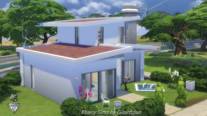 Rhapsody house by Guardgian at Khany Sims image 10514 670x377 Sims 4 Updates