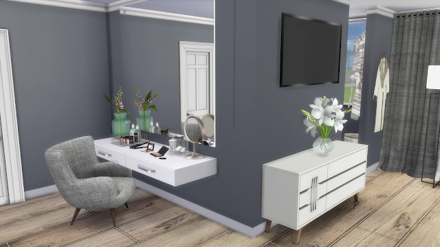 My Dream Bedroom at Dinha Gamer image 1056 Sims 4 Updates