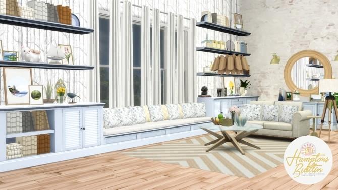Hamptons Builtin Intergrated Furniture Options at Simsational Designs image 1058 670x377 Sims 4 Updates