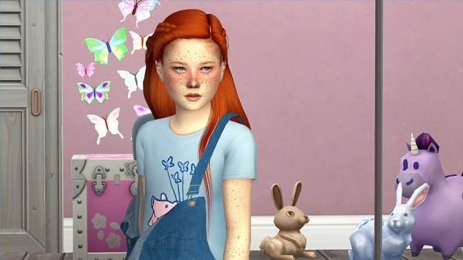 LEAH LILITH ARI HAIR KIDS AND TODDLER VERSION by Thiago Mitchell at REDHEADSIMS image 106 670x377 Sims 4 Updates