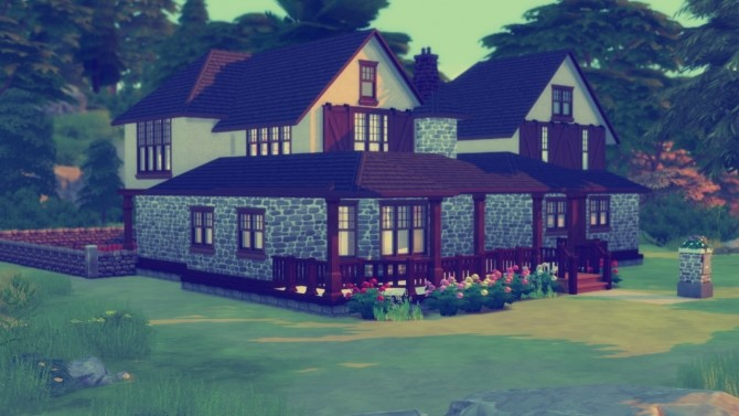 Sims 4 Four Bedroom House at Simming With Mary