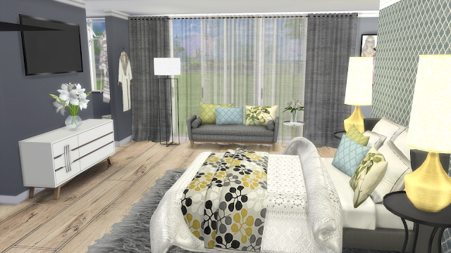 My Dream Bedroom at Dinha Gamer image 1067 Sims 4 Updates