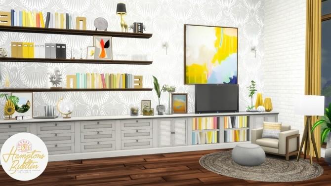 Hamptons Builtin Intergrated Furniture Options at Simsational Designs image 1069 670x377 Sims 4 Updates