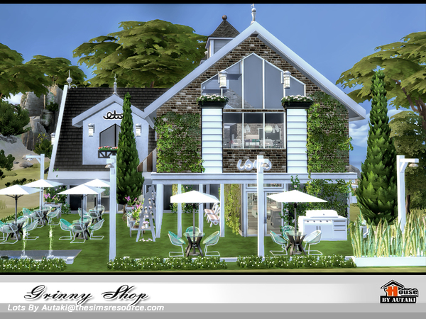 Grinny Shop by autaki at TSR image 1070 Sims 4 Updates