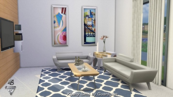 Rhapsody house by Guardgian at Khany Sims image 10714 670x377 Sims 4 Updates