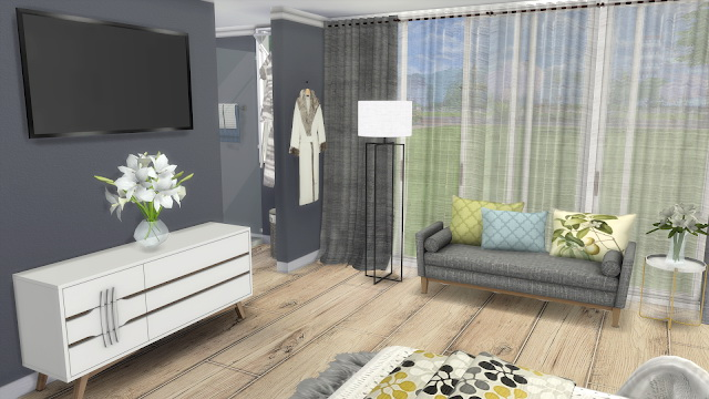 My Dream Bedroom at Dinha Gamer image 1077 Sims 4 Updates