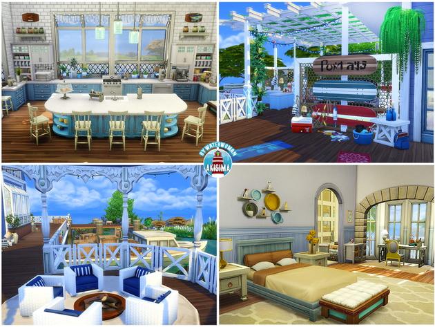 Lake House by Waterwoman at Akisima image 1078 Sims 4 Updates