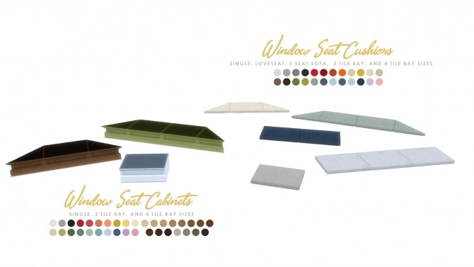 Hamptons Builtin Intergrated Furniture Options at Simsational Designs image 1079 670x377 Sims 4 Updates