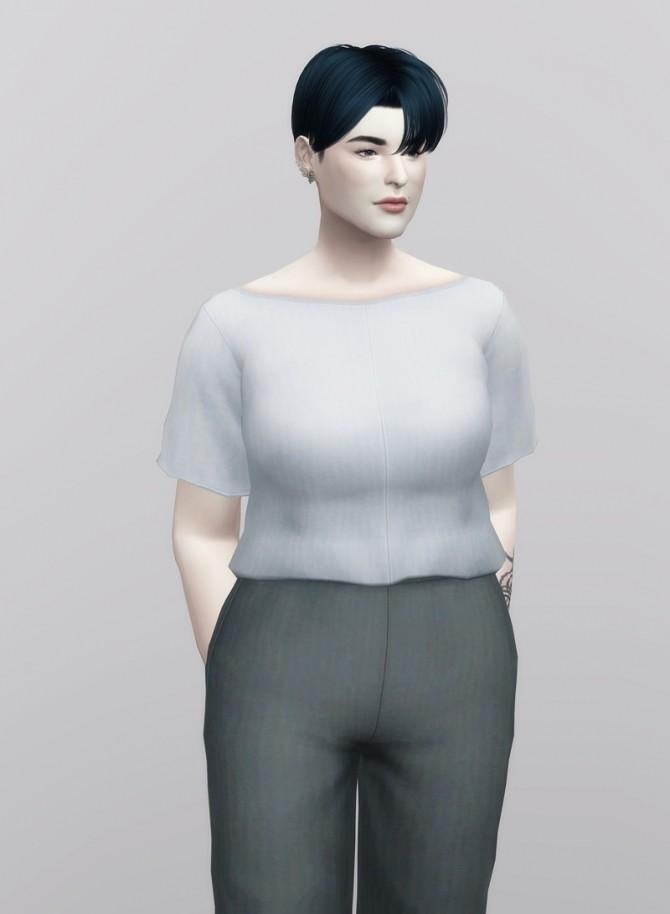 Linen Blouse at Rusty Nail image 1085 670x914 Sims 4 Updates