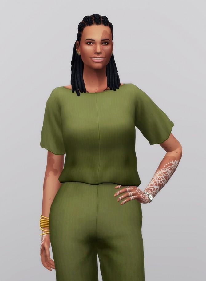 Linen Blouse at Rusty Nail image 1094 670x914 Sims 4 Updates