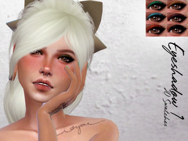 Glitter Eyeshadow 1 by Reevaly at TSR image 1106 Sims 4 Updates
