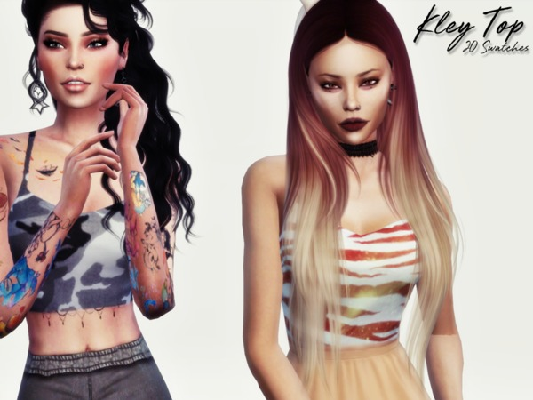 Kley Top by Reevaly at TSR image 1107 Sims 4 Updates