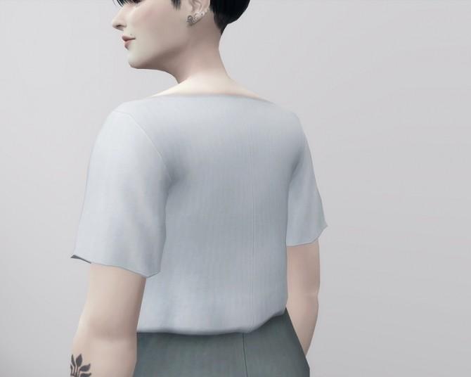 Sims 4 Linen Blouse at Rusty Nail