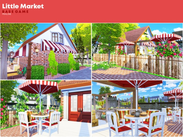 Little Market by Pralinesims at TSR image 1110 Sims 4 Updates