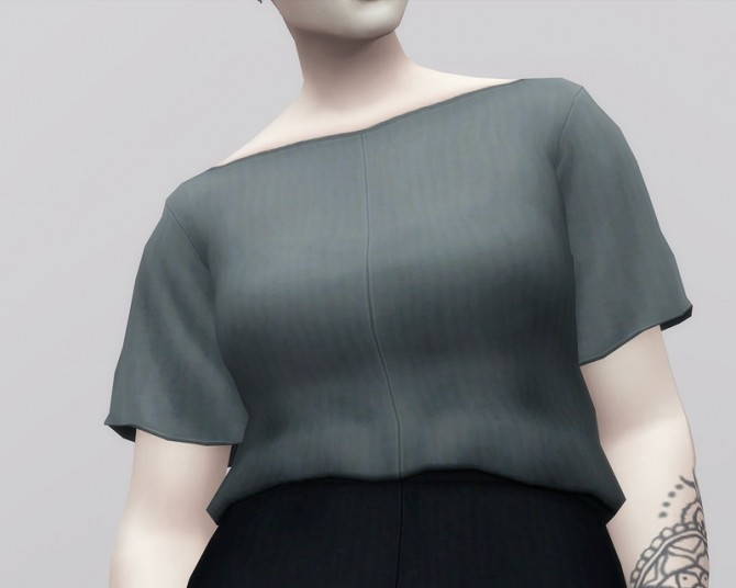 Linen Blouse at Rusty Nail image 11111 670x536 Sims 4 Updates