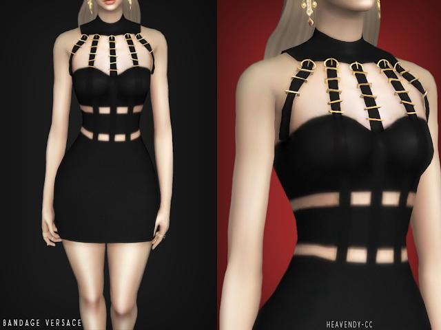 Bandage Dress At Heavendy Cc 187 Sims 4 Updates