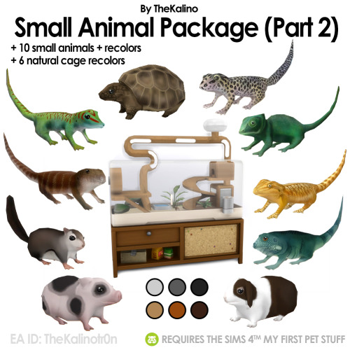 Small Animal Package (Part 2) at Kalino image 1132 Sims 4 Updates