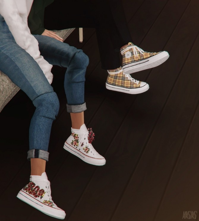 Positive Sneakers & Flowers at MMSIMS image 1134 670x744 Sims 4 Updates