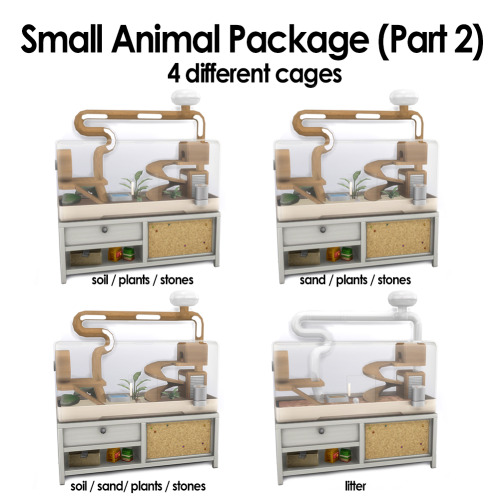 Small Animal Package (Part 2) at Kalino image 1152 Sims 4 Updates
