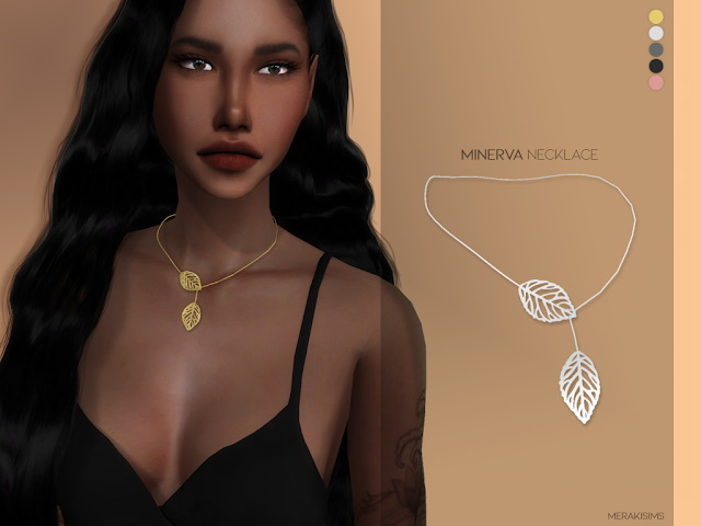 Minerva necklace at Merakisims image 1164 Sims 4 Updates