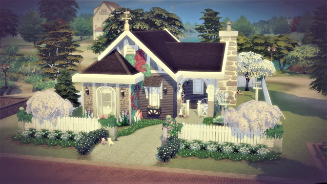 A new beginning of Hanna house at Agathea k image 1174 670x377 Sims 4 Updates