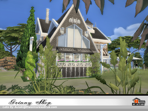Grinny Shop by autaki at TSR image 1188 Sims 4 Updates