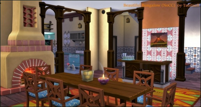 Beautiful Bungalow NoCC at Tanitas8 Sims image 12111 670x356 Sims 4 Updates