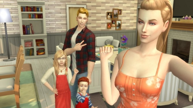 Super Parents Mommy Set 2 poses by David Veiga at The Sims 4 ID image 12113 670x377 Sims 4 Updates