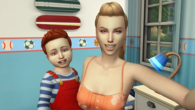 Super Parents Mommy Set 2 poses by David Veiga at The Sims 4 ID image 12210 670x377 Sims 4 Updates