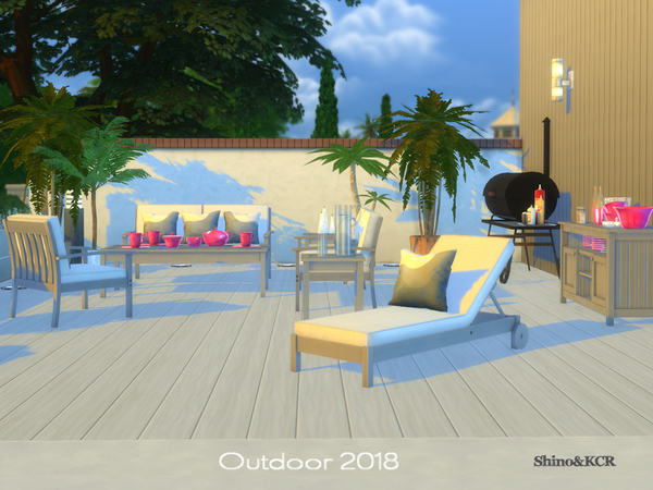 Outdoor 2018 by ShinoKCR at TSR image 12241 Sims 4 Updates