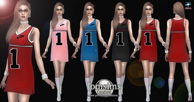 Sims 4 Wendya dress at Jomsims Creations