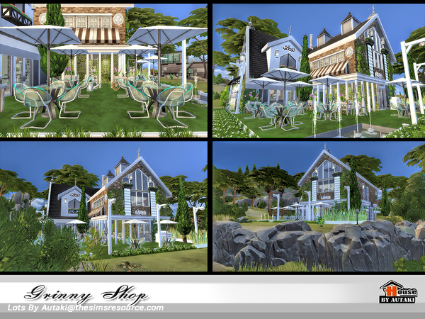 Grinny Shop by autaki at TSR image 1249 Sims 4 Updates