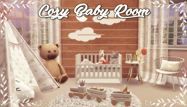 Cozy Baby Room at Lily Sims image 1255 Sims 4 Updates
