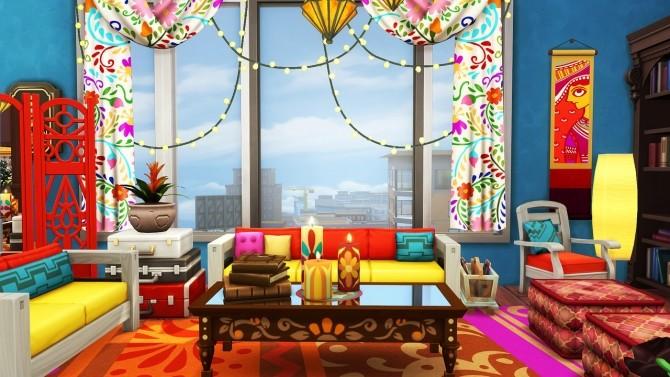 Boho Family Apartment at Aveline Sims image 1266 670x377 Sims 4 Updates
