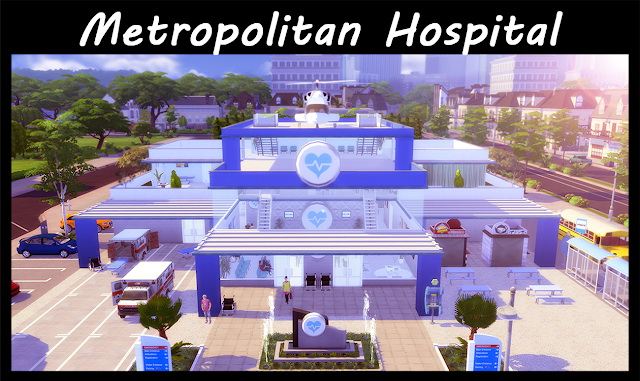 Metropolitan Hospital at Lily Sims image 1275 Sims 4 Updates